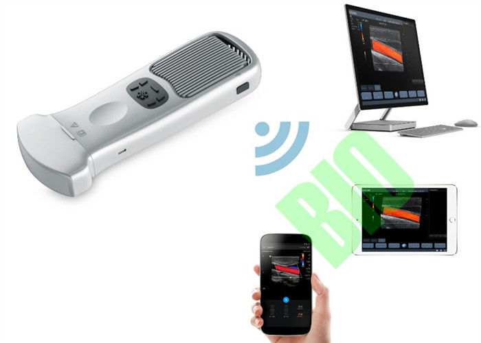 Removable Mini Pocket Ultrasound Transducer Probe Connected To Mobilephone 2~11MHz