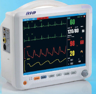 A Full Synchronistic Leads Medical Patient Monitors With Multi Channel ECG Display